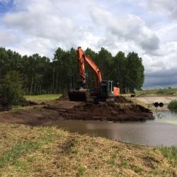 ontgraven waterberging